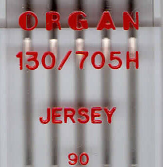 ORGAN - JERSEY knitting needles 5 pcs. / Thickness 90