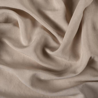 Fabric linen/viscose - LIGHT BEIGE T2322-17