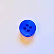 Button - 10 mm blue