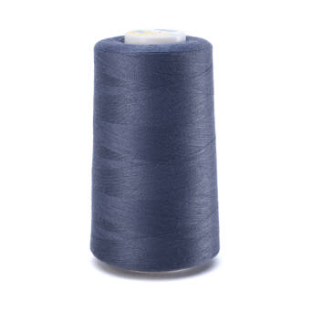 OVERLOCK threads - 5000 yards -  steel BLUE