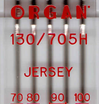 ORGAN - JERSEY knitting needles 5 pcs. MIX