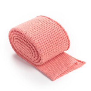 Folded ribbing RETRO GRAPEFRUIT