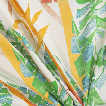 Viscose fabric/grass linen #3