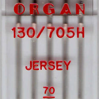 ORGAN - JERSEY knitting needles 5 pcs. / Thickness 70