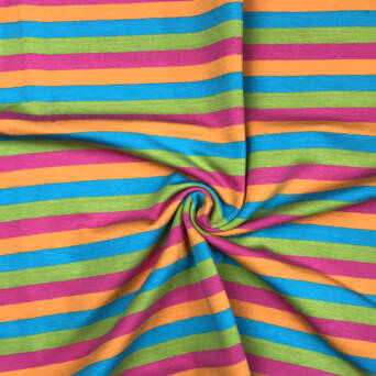 Stripes LOLLIPOP- 200g knited jersey  >185cm!<