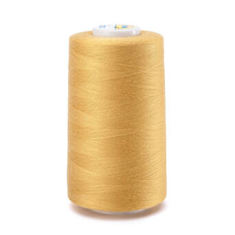 OVERLOCK threads - 5000 yards - light YELLOW