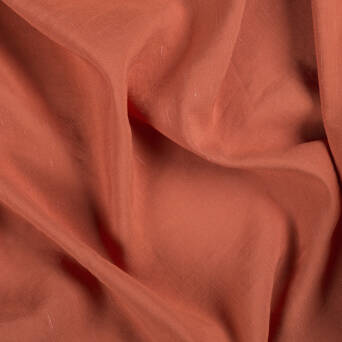 Linen/viscose fabric - RED