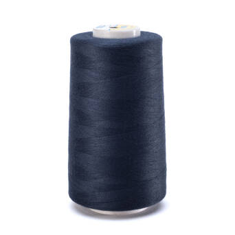 OVERLOCK threads - 5000 yards - dark steel BLUE