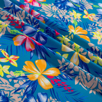 Lycra fabric Lycra HAWAII TURQUOISE  #545B