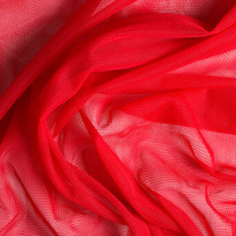 Soft tulle - RED