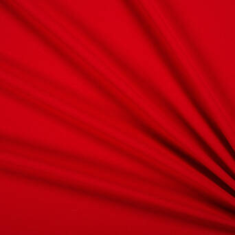 Crepe fabric - RED