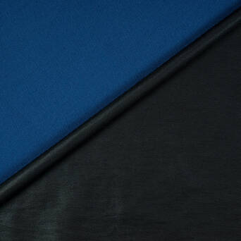 Fabric Double-sided Viscose Black/Blue