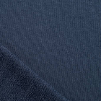 Sweat fabric- Dark Steel Blue  290g