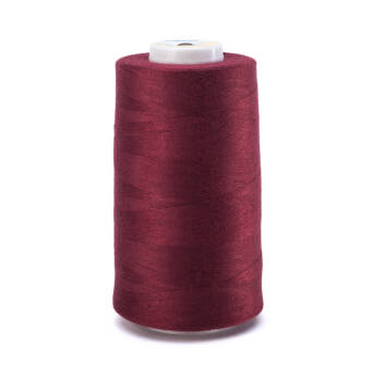 OVERLOCK threads - 5000 yards - BURGUNDY