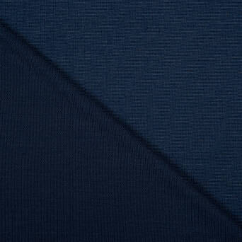 Knitted sweater fabric NAVY BLUE 220g