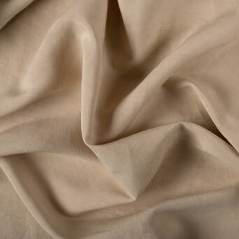 Fabric linen/viscose - BEIGET2322-03