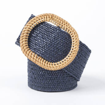 Dress belt - NAVY