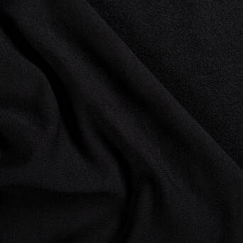 Viscose French Terry BLACK 300g