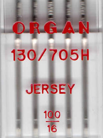ORGAN - JERSEY knitting needles 5 pcs. / Thickness 100