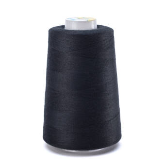 OVERLOCK threads - 5000 yards - BLACK