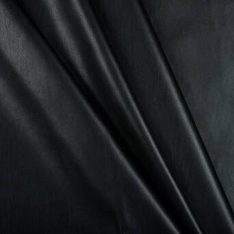 BLACK ECO-LEATHER fabric