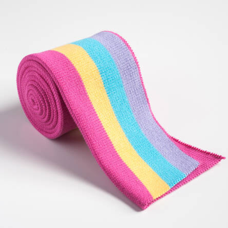 Folded ribbing RAINBOW XL 140 cm