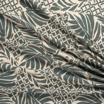 Viscose fabric FOREST SHADOW T0675-01