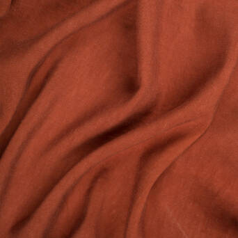 Fabric linen/viscose - BRICK T2322-25