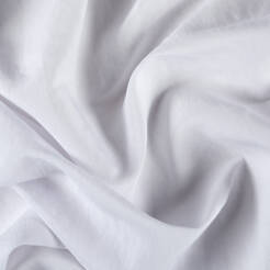 Fabric linen/viscose - WHITE T2322-26