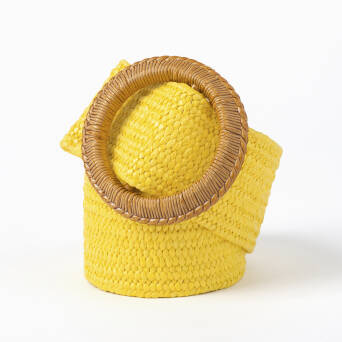 Dress belt - YELLOW