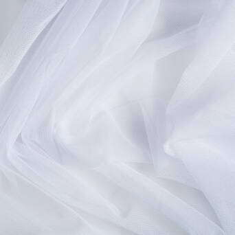 Soft tulle - WHITE
