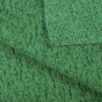 Coat fabric - GREEN