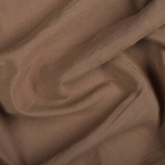 Linen/viscose fabric - LIGHT BROWN