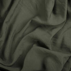 Linen/viscose fabric - KHAKI