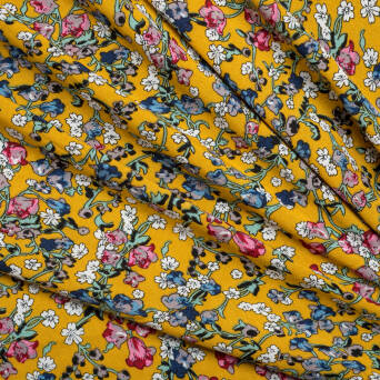 Viscose - Small flowers 2126-3
