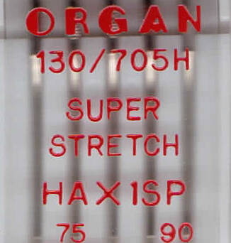 ORGAN - SUPER STRETCH HAX1SP  5 pcs / thickness 75, 90