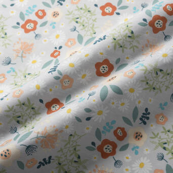Cotton fabric #9750_02