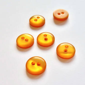 Button- 12 mm ocher