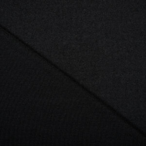 Knitted sweater fabric BLACK 220g